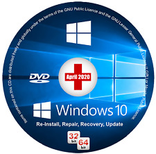 WINDOWS 10 (All Versions) Install/Repair/Recovery - 100% SAFE US MANUFACTURER