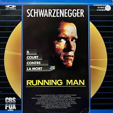 LASERDISC - The Running Man - VF PAL - SCHWARZENEGGER - CBS FOX Edition
