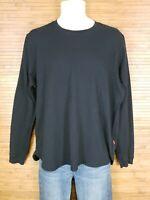 Levis Black Long Sleeve Thermal Shirt Mens Size 2XL EUC