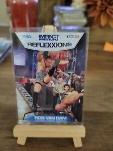 2012 TRISTAR TNA Impact Wrestling Reflexxions Blue /40 Rob Van Dam