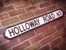 Holloway Road Old Fashioned Faux Cast Iron London Street Sign Road Sign