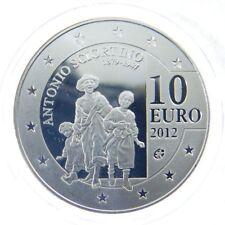Malta 10 euros conmemorativa 2012 Sciortino pp en cápsula