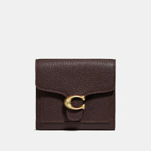 COACH Tabby Small Wallet in Burgundy
