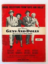 Guys and Dolls - Vocal Selections - Jean Simmons - Marlon Brando - Frank Sinatra