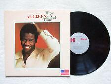 """LP AL GREEN """"Have A Good Time"""" HI RECORDS SHL 32103 USA §"""