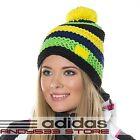 adidas Performance Knit Hat Wool Crochet Beanie Bobble Womens Mens Fleece Linned