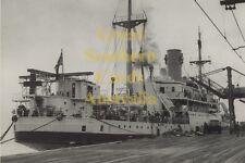Centaur Hospital Ship at Melbourne Australia March 1943 modern digital Postcard