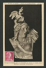 ALGERIE MK 1955 MARSEILLAISE MAXIMUMKARTE CARTE MAXIMUM CARD MC CM d4204