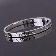 Xmas Gift Wholesale Solid SILVER Women's Jewelry Bracelet/Bangle Lady B925