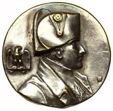 Napoleon Bonaparte Pin Badge ~ Original Antique Tinnie