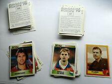 Panini Euro 1996 Europa Europe 96 Sticker Nr. aussuchen choose schwarz black EM