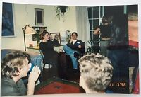 Vintage 90s PHOTO Of A House Party In San Francisco California
