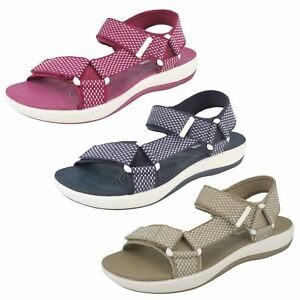 Ladies Clarks Brizo Cady Casual CloudSteppers Sandals - D Fitting