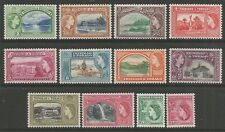 STAMPS-TRINIDAD & TOBAGO. 1953. Pictorial Definitive Set. SG: 267/78. MLH.