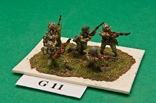 SGTS MESS G11 1/72 Diecast WWII German Panzer Grenadiers-5 Figures
