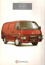 Bedford Van and Pickup Manuals and Literature
