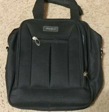 Eddie Bauer Carry On Bag Small Travel Luggage BLack Nylon Gym Overnight