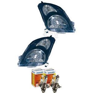 Scheinwerfer Set für Suzuki Swift MZ EZ Bj. 02 2005–10 2010 schwarz H4 56748138