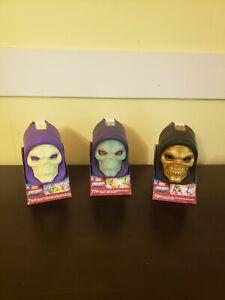 MOTU Mega Construx Skeletor Skulls 76 77 78 Set Masters Of The Universe NIB