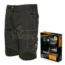 ISSA pantaloni corti da lavoro elasticizzati multitasche STRETCH EXTREME 8834B