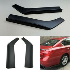 Car Bumper Spoiler Rear Lip Angle Splitter Diffuser Anti-crash Modified Winglet