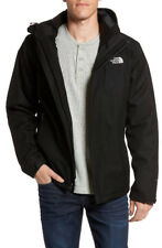 NWT NORTH FACE Men Inlux Tri Climate Waterproof 3-in-1 Jacket Size XXL TNF Black