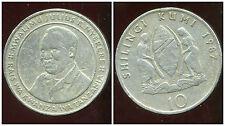 TANZANIE  10 shilingi 1987