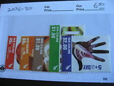 NEW ZEALAND Fruits and Vegetables set Sc 2076-80 MNH