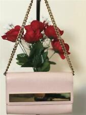 Furla Mia Saffiano Leather Crossbody Shoulder Handbag Clutch In Magnolia