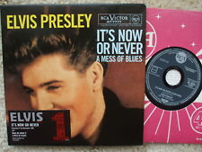 Elvis Presley It's Now Or Never / A Mess Of Blues  Numbered cd