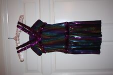 Custom Circus Themed Figure Skating or Baton Twirling Dress, Ladies Small