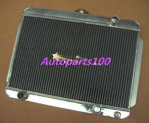 QLD 3 Row Aluminum Radiator For HOLDEN Gemini TX TC TD TE TF TG RB 1975-1986 MT