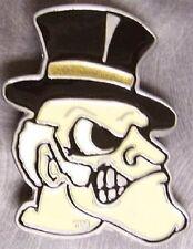 NCAA Pewter Belt Buckle Wake Forest University Demon Deacons NEW