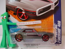 Case L 2011 i Hot Wheels '67 PONTIAC FIREBIRD 400 #86∞Gray;red oh5∞Street Beasts