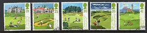 GB 1994 Scottish Golf Courses fine used set stamps