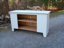 Primitive Handcrafted Flat Screen TV Stand
