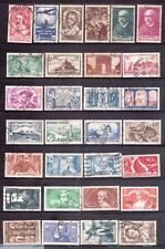 FRANCE 1930s page of good stamps used HICV