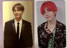 BTS V Taehyung Photocard MEMORIES 2018 DVD Blu-ray Official Bangtan Boys Set FC