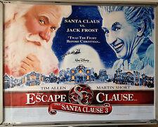 Cinema Poster: SANTA CLAUSE 3 THE ESCAPE CLAUSE 2006 (Quad) Tim Allen