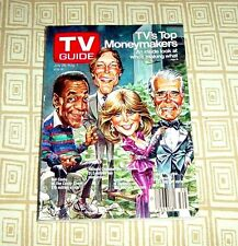 TV GUIDE  1986   JULY 26 - AUG 1    TV'S TOP MONEY MAKERS