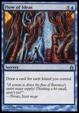 Mtg 4x flow of ideas-Ravnica * Blue Massive card draw *