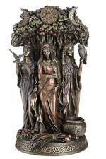"10.5"" Celtic Triple Goddess Maiden Mother & The Crone Statue Sculpture Deities"