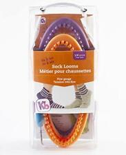 "Knitting Board Sock Loom 8""X3.5"" 2/Pkg-His & Her -KB4488"