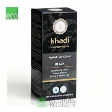 Khadi Black Certified Long Last Herbal Hair Colour 100g - All Natural Additives