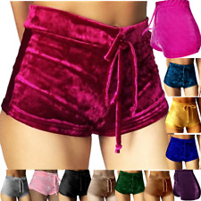 Sexy Women Summer Pants Stylish High Waist Shorts Short Belt Beach Trousers