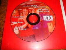 3 TLC reality show EMMY DVD Trading Spaces. ADRENALINE RUSH. JUNKYARD WARS 1EP