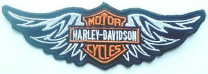 Harley-Davidson Vest Patches Sparrow Emblem Small Motorcycle Jacket Patches