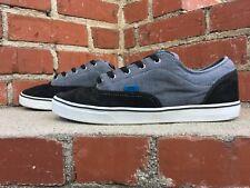 Vans Pro Skate The AV Era 1.5 Black Gray Canvas Skateboard Sneaker Men Size 12