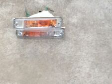 JDM HONDA CIVIC EF5 SHUTTLE WAGON FRONT BUMPER CLEAR LIGHTS OEM
