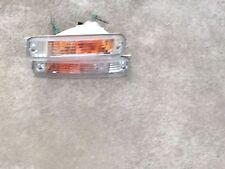 JDM HONDA CIVIC EF5 SHUTTLE WAGON FRONT BUMPER CLEAR LIGHTS OEM